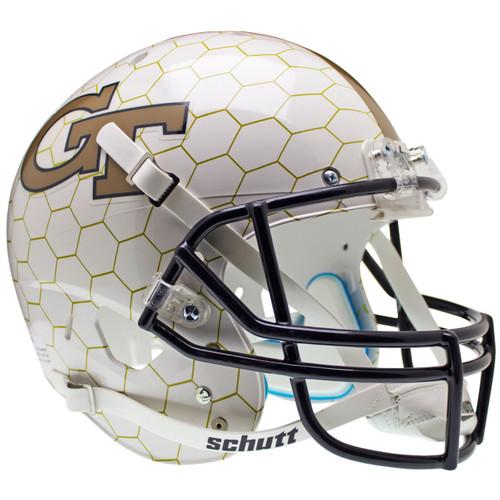 Georgia Tech Alternate Honeycomb Schutt Full Size Replica XP Football Helmet