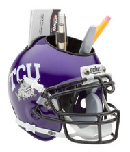 TCU Horned Frogs Mini Helmet Desk Caddy by Schutt