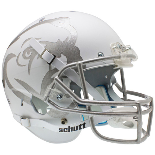 Mississippi State Alternate White Bulldog Schutt Full Size Replica XP Football Helmet