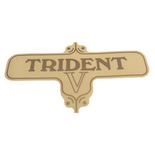 Decal, Trident Side Cover, Triumph Motorcycles, 60-3954