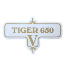 Tiger 650 V Transfer Decal, Triumph Motorcycles, 60-3952