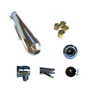 Universal Short Reverse Cone Silencer//Muffler