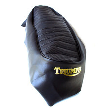 Seat Cover, Black, 1968 - 1970 Triumph Motorcycles, 82-9715, T204