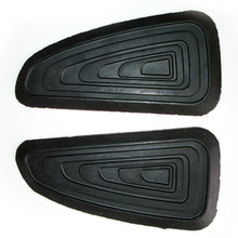 Gas Tank Knee Pad Set, European Style, Triumph, 83-4355, 83-4556