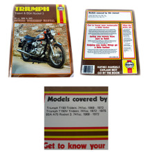 Haynes Owners Workshop Manual, Triumph Trident & BSA Rocket 3 Motorcycles, 741cc, 1969-1975, 18-400