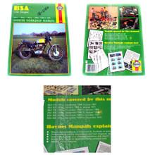 Haynes Owners Workshop Manual, BSA 58-72 247cc, 343cc, 441cc, 499cc Motorcycles, 18-050