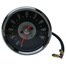 Tachometer, 4-1, Up to 10,000 RPM, Grey Face, 67-69 Triumph Motorcycles, Smiths Replica, 60-1949, RSM3003/01, Emgo 58-43635
