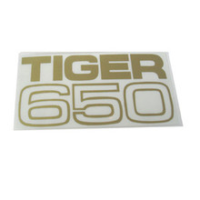 Decal, Tiger 650, Large, 1969-1971 Triumph Tiger 650cc Motorcycles, 60-2102