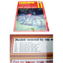 Haynes Owners Workshop Manual, Triumph Tiger Cub & Terrier Motorcycles Owners Workshop Manual, 18-025