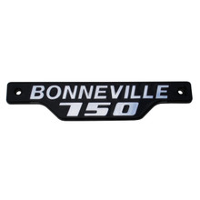 Bonneville 750 Side Badge / Emblem, Silver & Black, Triumph Motorcycles, 83-7316