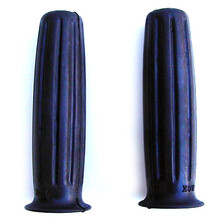 Grip Set, Amal Type 366, Black, Long Set, 1963-1967 Triumph BSA