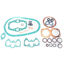 Gasket Set, Complete, 1958-1966 Triumph 500cc OHV 5TA Speed Twin and 1960-1966 Triumph 500cc OHV T100A Tiger 100 S/S 12-814