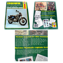 Haynes Owners Workshop Manual, 1963-1983 Triumph 650cc & 750cc 2 Valve Unit Twin Motorcycles, 18-300