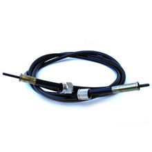 Speedometer Cable, 1975-On Norton MK3, 1975-76 Triumph T160 Motorcycles, 60-4455, DF9110/00511, Emgo 26-82716A