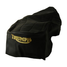 Seat Cover, Black, 1978 - 1979 Triumph T7 and T140 Motorcycles, 83-7131, T208