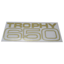 Trophy 650 Decal, 1969-1971Triumph Trophy 650cc Motorcycles, 60-2104