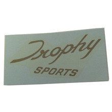 Trophy Sport Script Decal, Triumph Trophy Sport Motorcycles, 60-0678