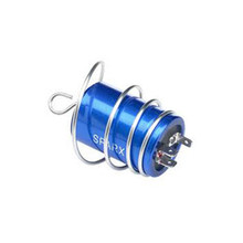 Ignition Capacitor, 2MC Type, with Mounting Spring, BSA, Norton, Triumph Motorcycles, 54170009, 031075, 82-8319