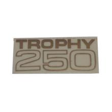 Decal, Trophy 250, Fuel Tank, Triumph Motorcycles, 82-9479D