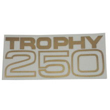 Decal, Trophy 250 Side Cover, Triumph Motorcycles, 60-2380
