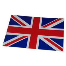 Union Jack Sticker, Large, BSA, Norton, Triumph Motorcycles, 24-UJ3
