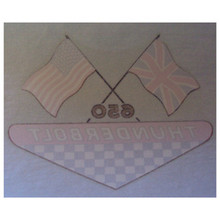 Decal, Thunderbolt 650, BSA Motorcycles, 60-2375