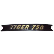 Motif, Tiger 750, Black/Gold, Triumph Motorcycles, 60-4384
