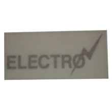 Decal, Electro, Triumph Motorcycles, 60-7386