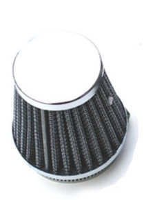 Air Filter, Cone, 54mm, BSA, Norton, Triumph Motorcycles, 83-1536R/32, Emgo 12-55754