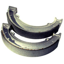 Brake Shoe Set, Rear , BSA, Triumph Motorcycles, 37-2327, 65-5901, 65-5940, Emgo 93-81012