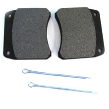Disc Brake Pad Set, Sintered or Metallic, Triumph Motorcycles, 99-2769, Emgo 91-48810, 64-48861, Ferodo FDB342P, FRP213P