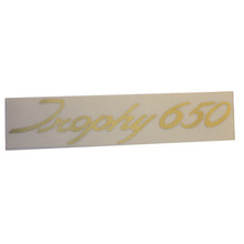 Trophy 650 Sticker, Triumph Motorcycles, 60-1920