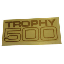 Decal, Trophy 500, 1969-1972 Triumph Trophy 500cc Motorcycles, 60-2105