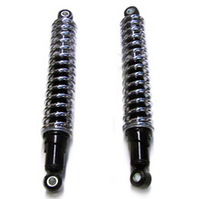 Shock Set, 11.9 inch, Exposed Spring, 1959 – on Triumph 350/500, 1963 – on   3TA & T90, 1963 -  on 5TA & T100SS Motorcycles, T107T, Emgo 17-05682