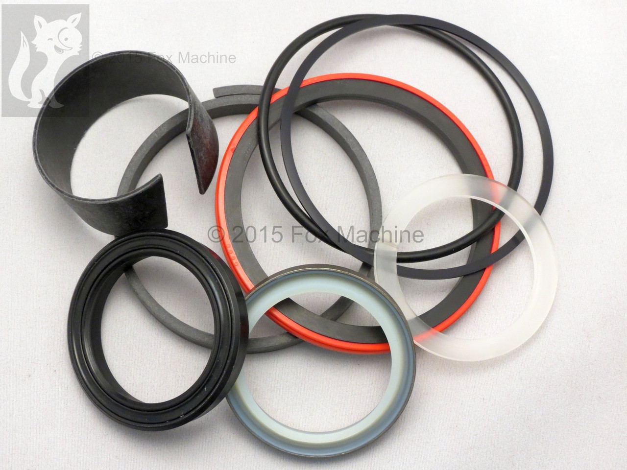 Hydraulic Seal Kit for Case 580K Swing Cylinder 3-1/2