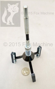 """Small Cylinder Hone 1-1/4"""" to 3-1/2"""" with 2"""" long stones"""