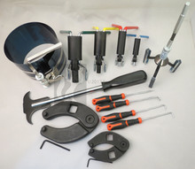 Hydraulic Cylinder Repair Tool Kit for skid steers, loaders, backhoes, etc.