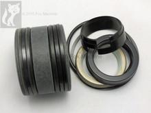 "Seal Kit for Case 580CK Model 33 Backhoe Boom Cyl 2-1/4"" Rod w/Snap in OR Press in wiper"