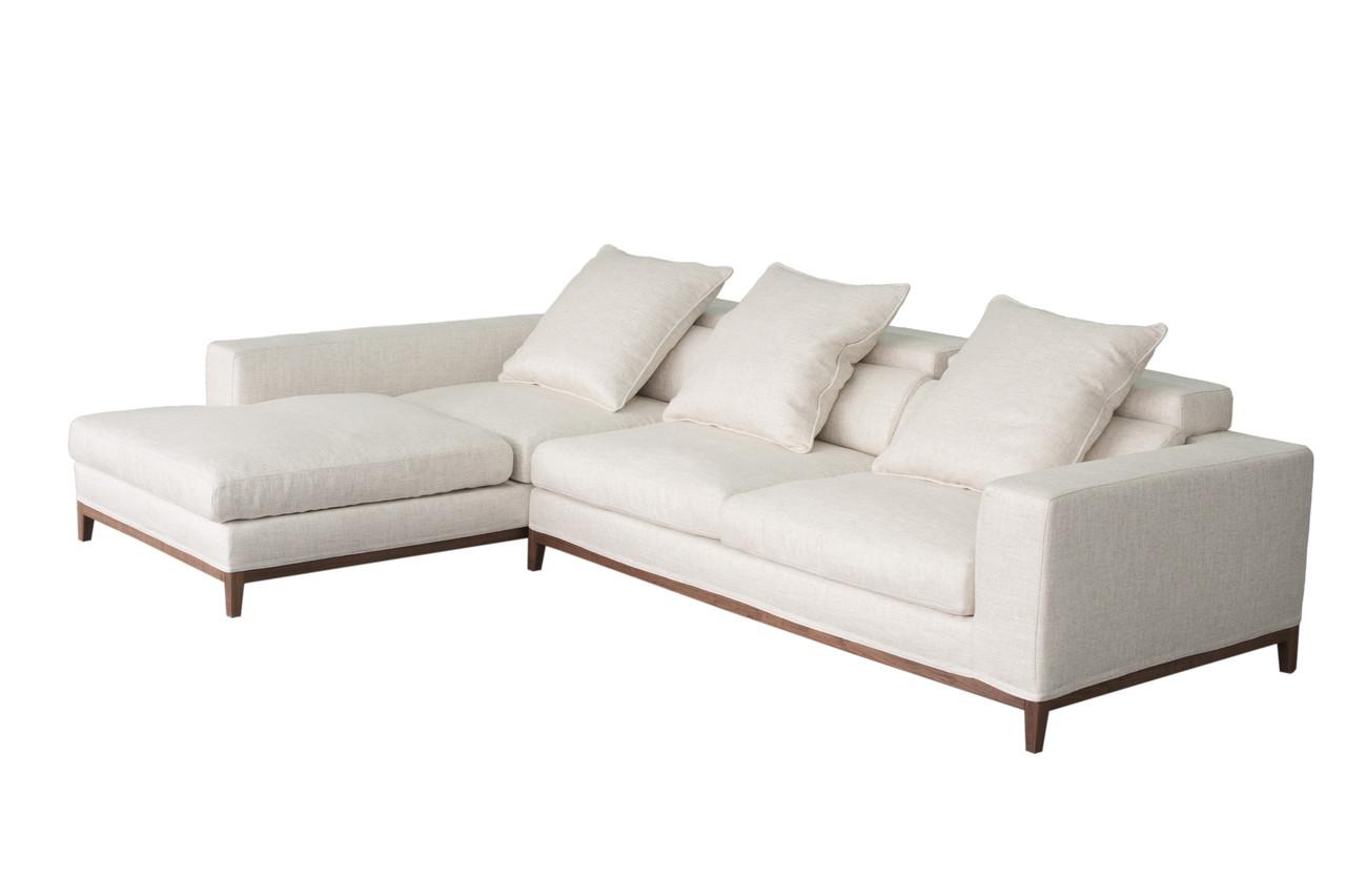 Groovy OSLO Sofa 3 Seater & Long Chaise Left - Cityside Furniture SE-84