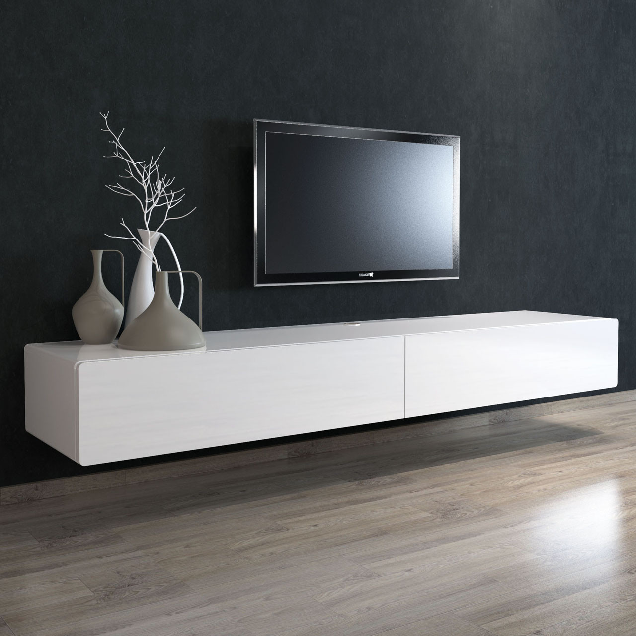 Brando Floating Entertainment Unit 220cm Cityside Furniture