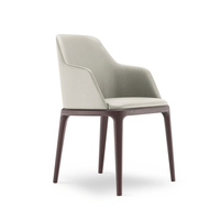 CHLOE Dining Chair / Walnut Stained Legs