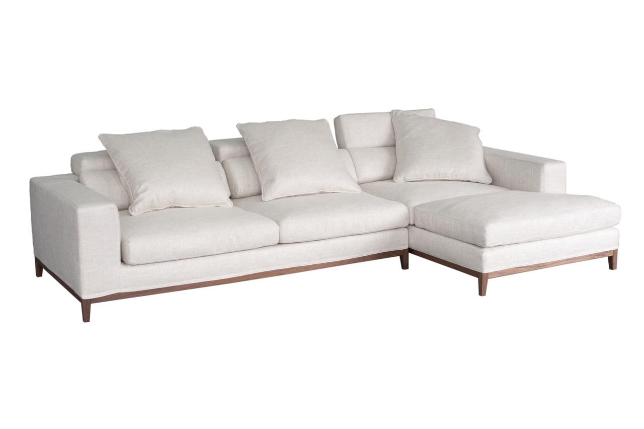 Oslo Sofa 3 Seater Amp Compact Chaise Right Cityside Furniture