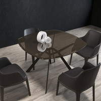 METROPOLITAN Dining Table 110cm