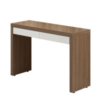 CINCO Console Walnut Veneer With White Fronts