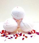Peppermint Candy Cane Bath Bomb