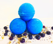 Fresh Blueberries Bath Bomb