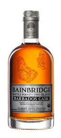 BAINBRIDGE BATTLE POINT TWO ISLANDS BARBADOSE CASK FINISHED ORGANIC WHEAT WHISKEY