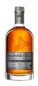 BAINBRIDGE BATTLE POINT TWO ISLANDS HOKKAIDO CASK FINISHED ORGANIC WHEAT WHISKEY