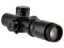1:4x32 QR-TS 35mm PITBULL Mil COMPACT SCOPE w/CQB ILLUMINATED RETICLE
