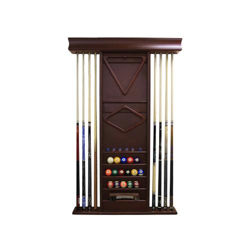 Imperial Deluxe Wall Rack, Mahogany